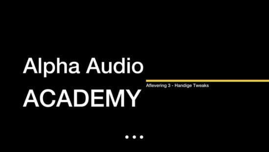 Alpha Audio Academy